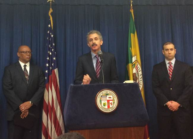 Mike Feuer, Mark Ross, Brian J. Steiger