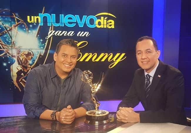 Nelson A. Castillo NuevoDia Emmy2015
