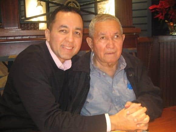 Nelson A. Castillo y padre Juan Rivas