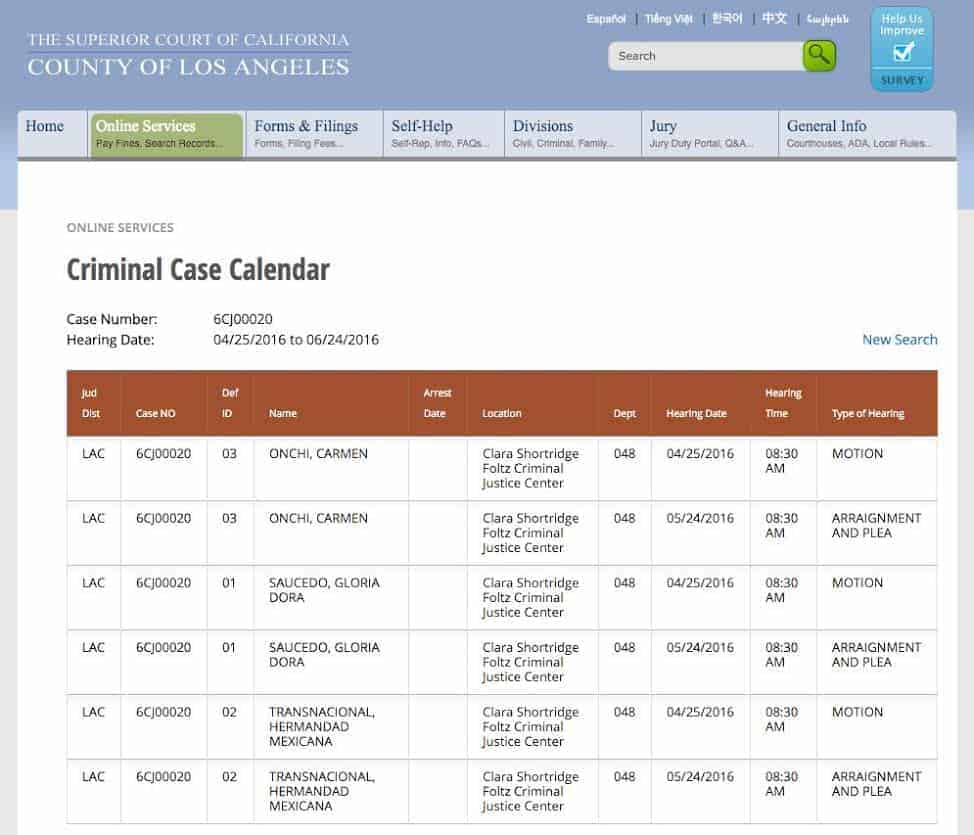 Calendario-criminal-Gloria-Saucedo