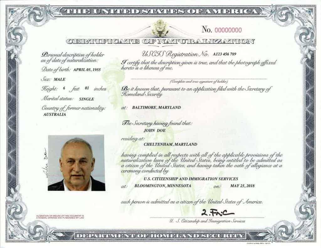 Nuevo certificado 2018 -N-550