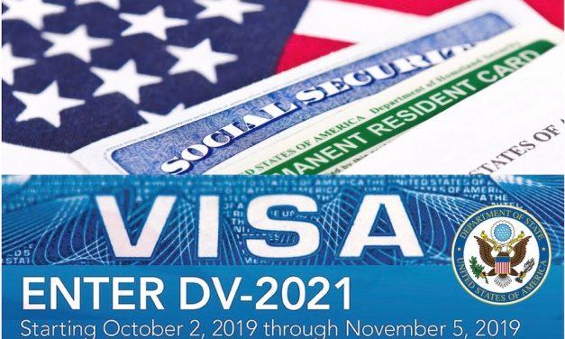 ¿Cómo inscribirse para la lotería de visas del año fiscal 2021?