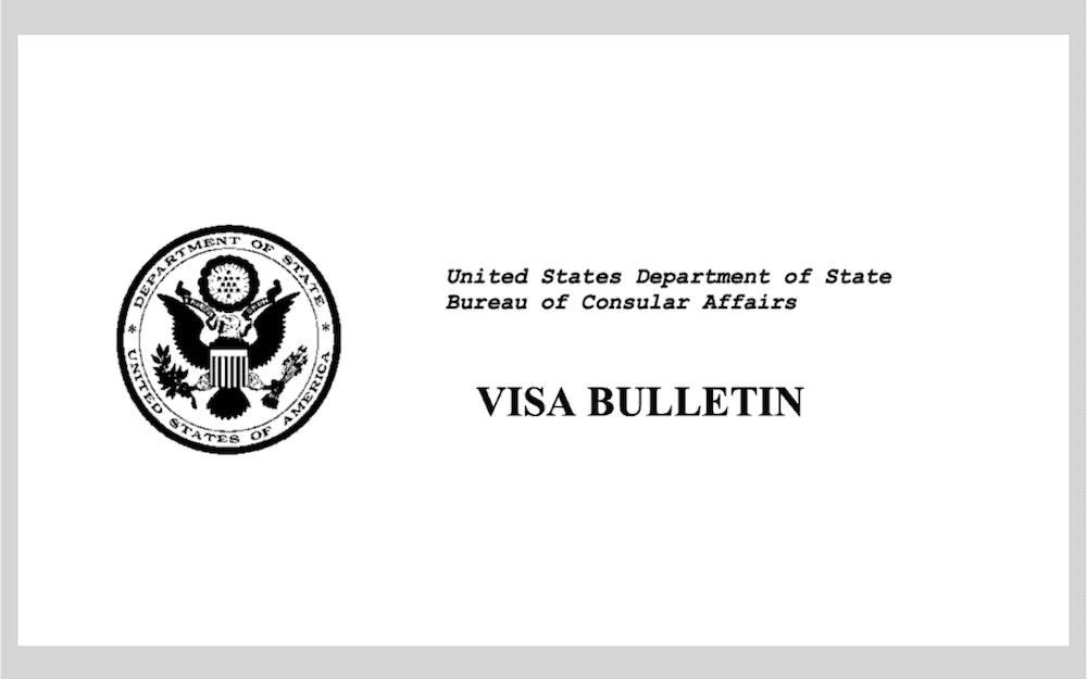 Publican Boletín de Visas para marzo del 2020