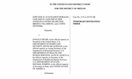 Orden de emergencia de juez impide negar visas a inmigrantes sin seguro médico