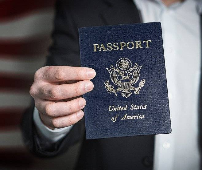 passport blue