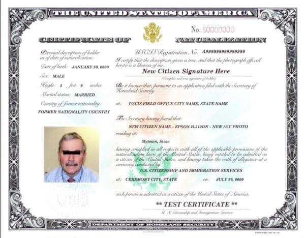 2010 Certificado de Naturalizacion